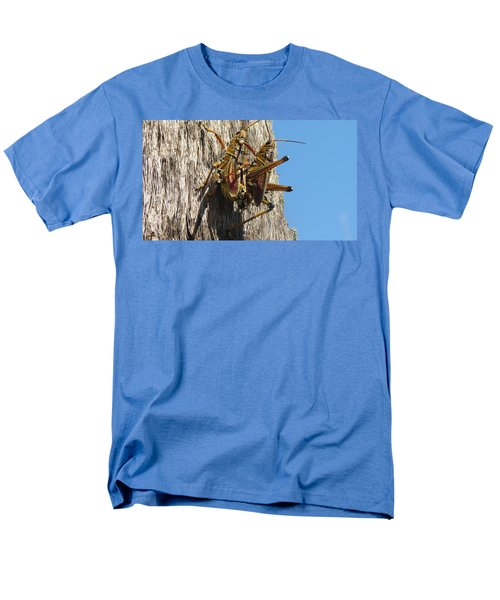 Grasshoppers Men's T-Shirt  (Regular Fit) by Fortunate Findings Shirley Dickerson