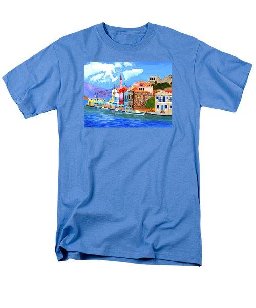 Greek Coast Men's T-Shirt  (Regular Fit)