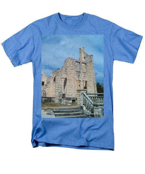 Men's T-Shirt  (Regular Fit) featuring the photograph Haha Tonka Castle 2 by Sara  Raber
