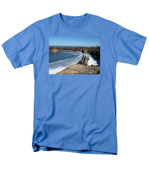 Icy Quarry Men's T-Shirt  (Regular Fit) by Catherine Gagne