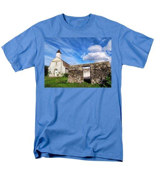 Men's T-Shirt  (Regular Fit) featuring the photograph Hana Church 8 by Dawn Eshelman