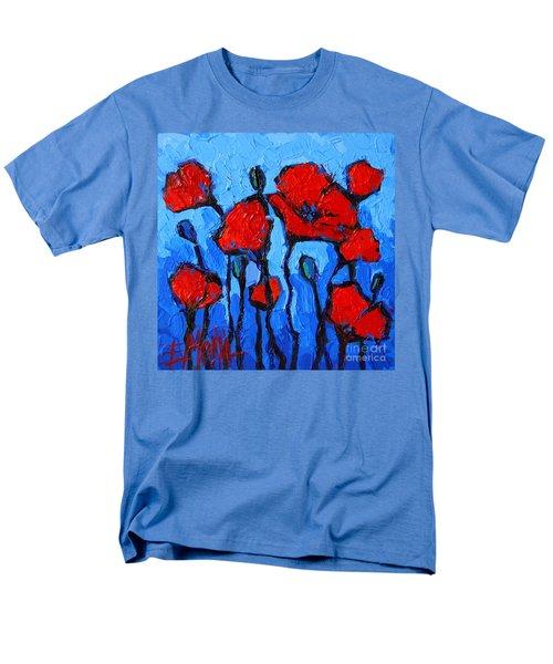 Happy Coquelicots Men's T-Shirt  (Regular Fit)