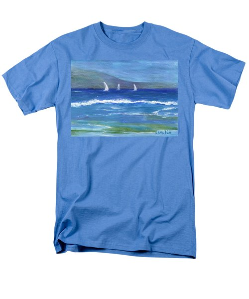Men's T-Shirt  (Regular Fit) featuring the painting Hawaiian Sail by Jamie Frier