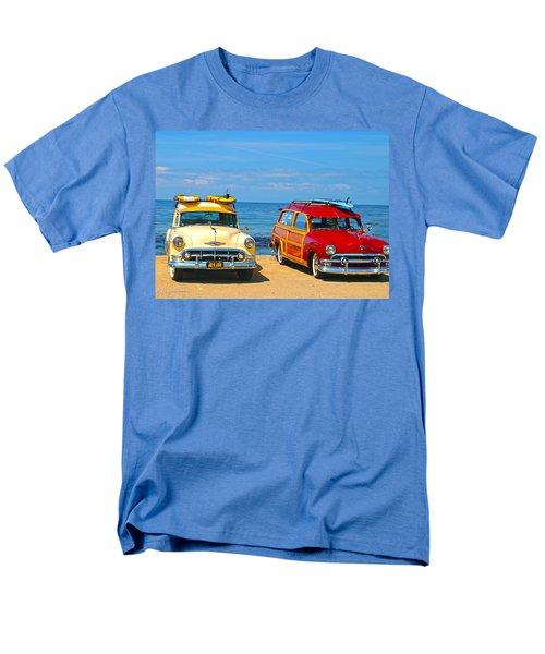 Cousins At Royal Palms  Men's T-Shirt  (Regular Fit) by Joe Schofield