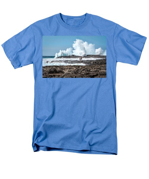 In Over Their Heads Men's T-Shirt  (Regular Fit) by Denise Bird