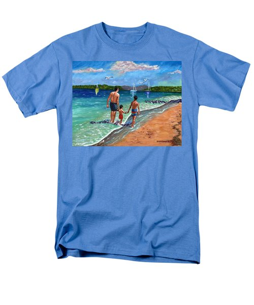 Holding Hands Men's T-Shirt  (Regular Fit) by Laura Forde