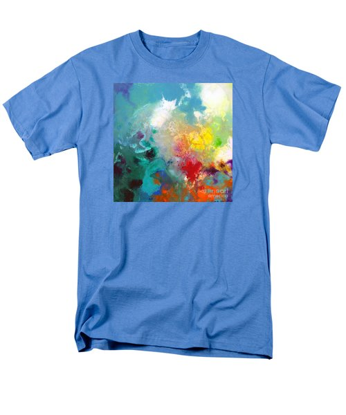 Holding The High Watch Canvas One Men's T-Shirt  (Regular Fit) by Sally Trace