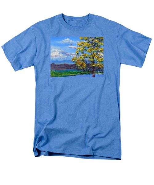 How Lovely Is Your Dwelling Place Men's T-Shirt  (Regular Fit) by Dan Whittemore