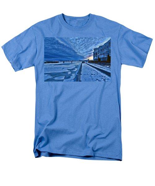 Ice Station Hudson Men's T-Shirt  (Regular Fit) by Jeffrey Friedkin