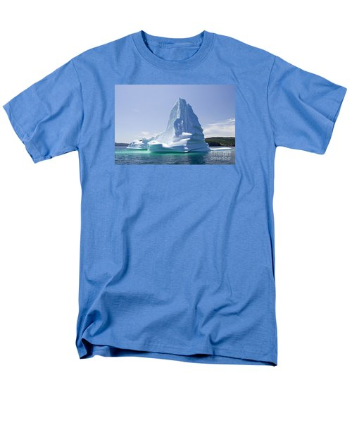 Men's T-Shirt  (Regular Fit) featuring the photograph Iceberg Canada by Liz Leyden