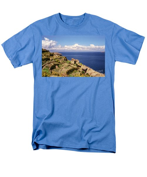 Men's T-Shirt  (Regular Fit) featuring the photograph Isla Del Sol by Suzanne Luft