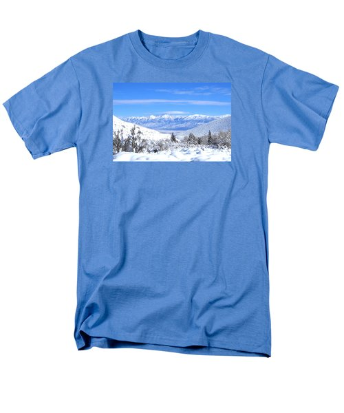 It Snowed Men's T-Shirt  (Regular Fit) by Marilyn Diaz