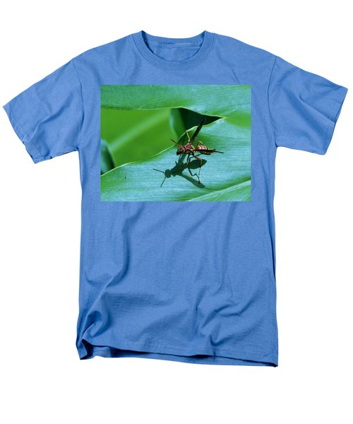 Men's T-Shirt  (Regular Fit) featuring the photograph Just Me And My Shadow by John Glass