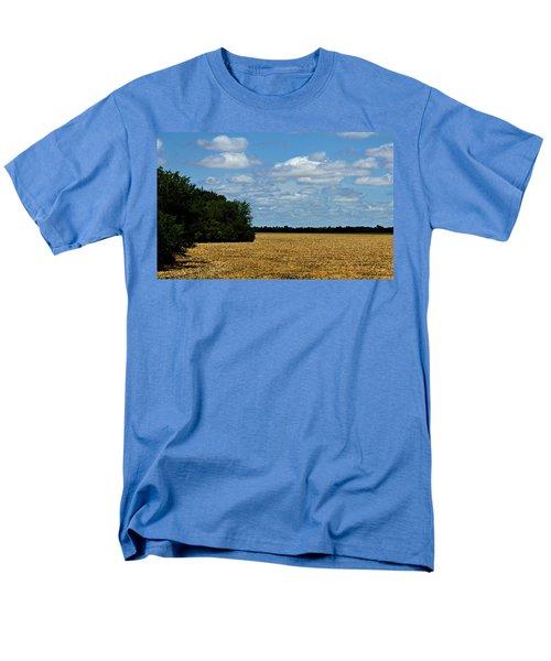 Kansas Fields Men's T-Shirt  (Regular Fit) by Jeanette C Landstrom