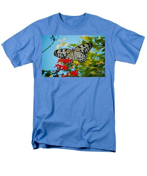 Kite Butterfly Men's T-Shirt  (Regular Fit) by Peggy Franz