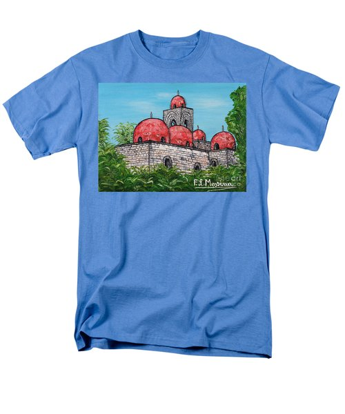 La Chiesa Di San Giovanni Degli Eremiti  Men's T-Shirt  (Regular Fit) by Loredana Messina