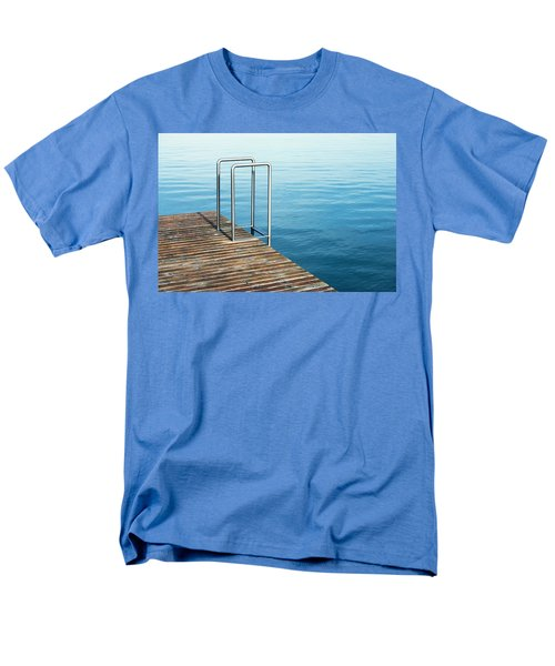 Men's T-Shirt  (Regular Fit) featuring the photograph Ladder by Chevy Fleet
