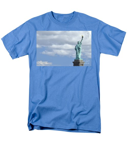 Lady Liberty   1 Men's T-Shirt  (Regular Fit) by Allen Beatty