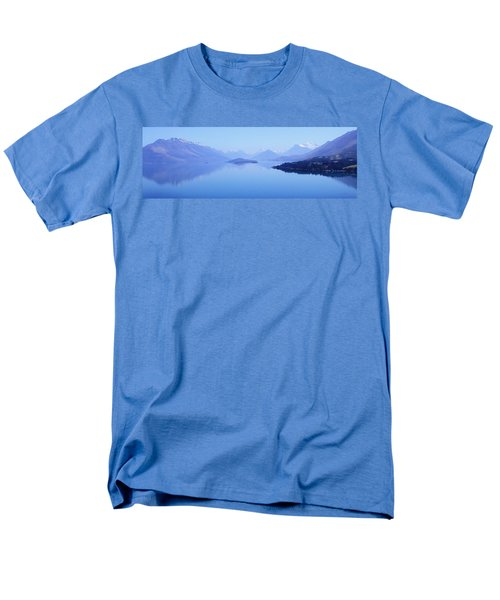 Men's T-Shirt  (Regular Fit) featuring the photograph Lake Glenorchy New Zealand by Ann Lauwers