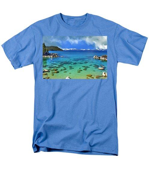 Lake Tahoe Cove Men's T-Shirt  (Regular Fit) by Dominic Piperata