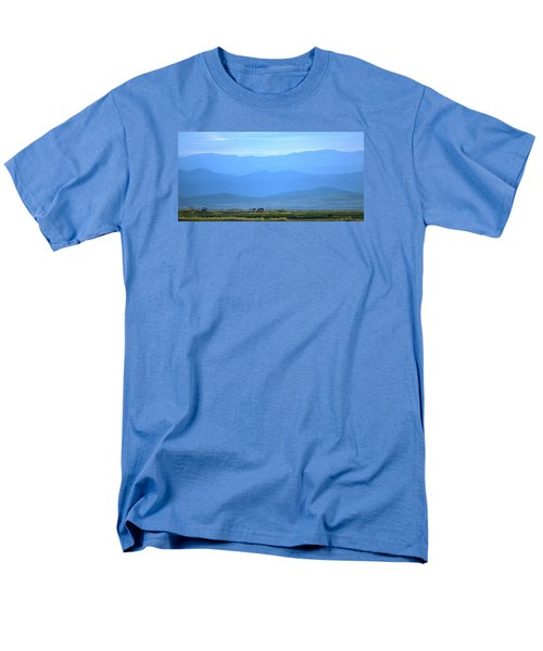 Men's T-Shirt  (Regular Fit) featuring the photograph landscape of North CA by Rima Biswas