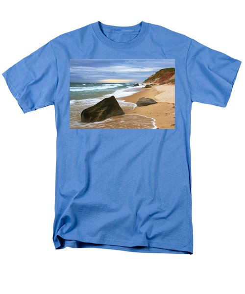 Men's T-Shirt  (Regular Fit) featuring the photograph Last Light Before The Storm by Roupen  Baker