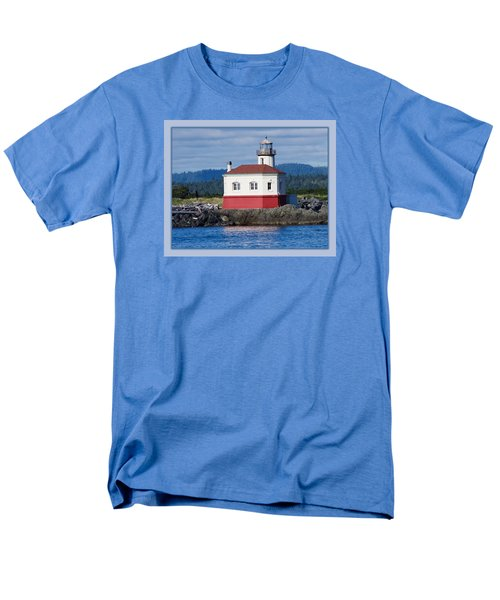 Men's T-Shirt  (Regular Fit) featuring the photograph Lighthouse by Adria Trail