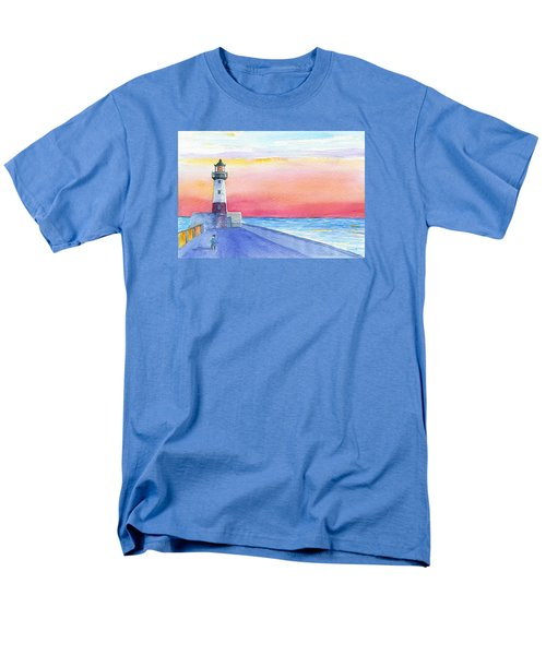 Lighthouse Keeper Men's T-Shirt  (Regular Fit) by Anne Marie Brown