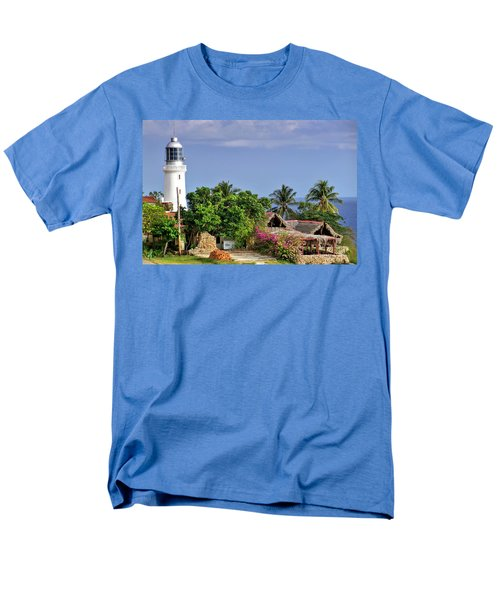 Lighthouse Santiago De Cuba Men's T-Shirt  (Regular Fit)