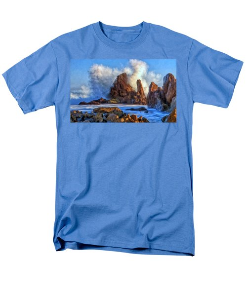 Little Corona Men's T-Shirt  (Regular Fit) by Michael Pickett