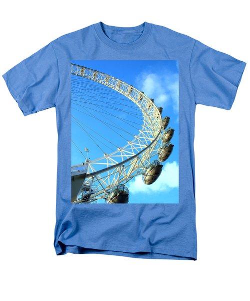 Men's T-Shirt  (Regular Fit) featuring the photograph London Eye by Rachel Mirror