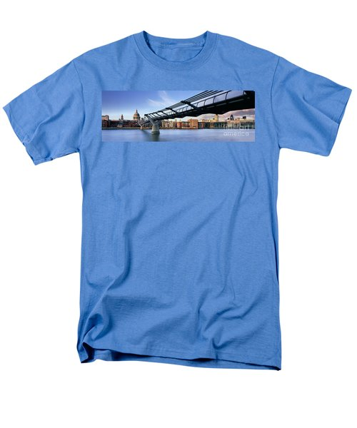 Millennium Bridge London 1 Men's T-Shirt  (Regular Fit) by Rod McLean