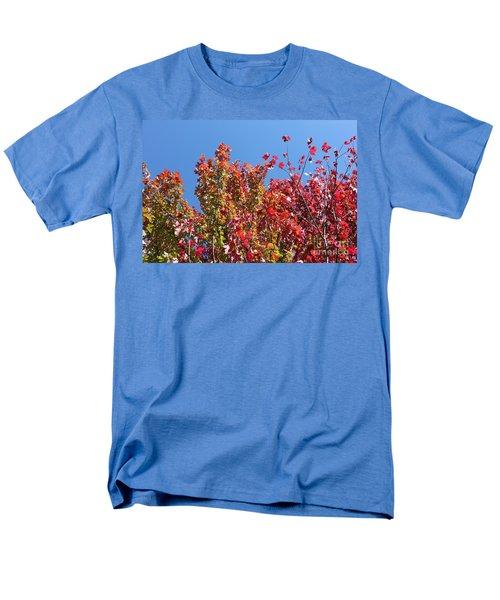 Men's T-Shirt  (Regular Fit) featuring the photograph Looking Upward by Debbie Hart