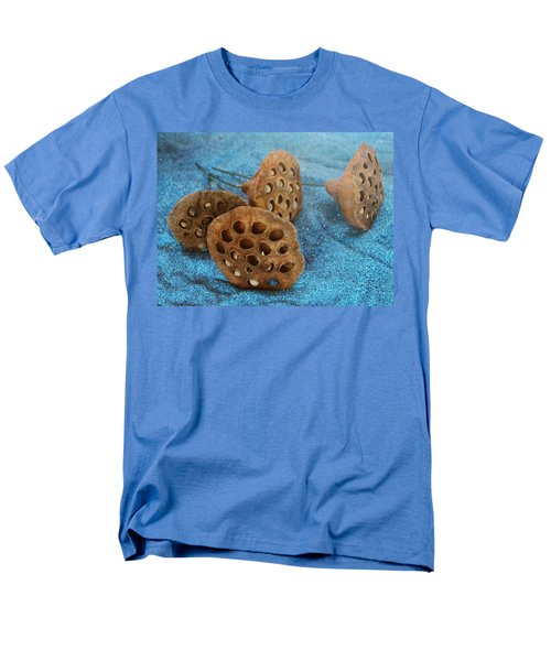 Men's T-Shirt  (Regular Fit) featuring the photograph Lotus Pods by Diane Alexander