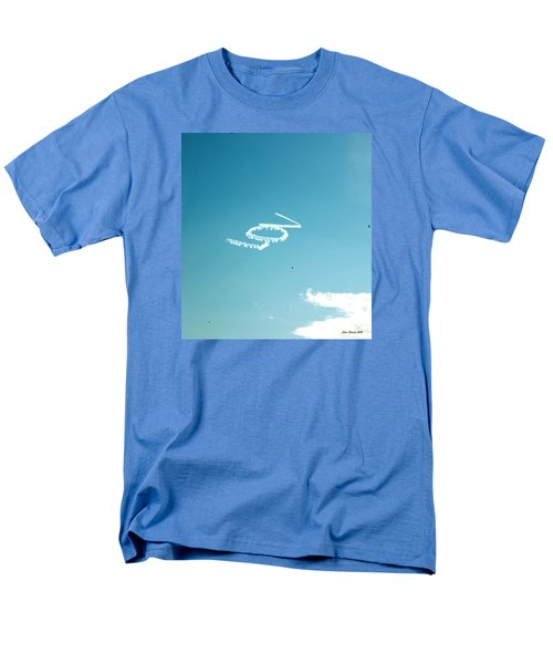 Men's T-Shirt  (Regular Fit) featuring the photograph Lov In The Air  by Lorna Maza