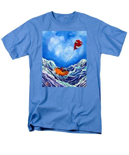 Love's Castaway Men's T-Shirt  (Regular Fit) by Jackie Carpenter