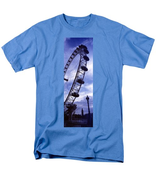 Low Angle View Of The London Eye, Big Men's T-Shirt  (Regular Fit) by Panoramic Images