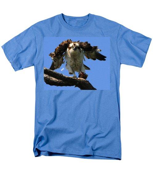 Mad Osprey Men's T-Shirt  (Regular Fit) by Roger Becker