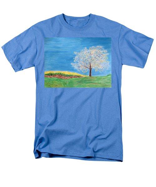 Magical Wish Tree Men's T-Shirt  (Regular Fit) by Sonali Gangane