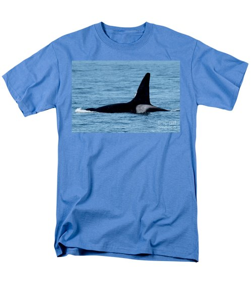 Men's T-Shirt  (Regular Fit) featuring the photograph Male Orca Killer Whale In Monterey Bay 2013 by California Views Mr Pat Hathaway Archives