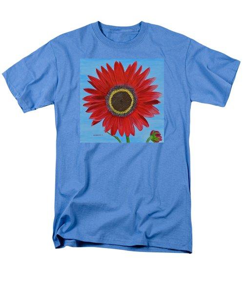 Mandy's Burgundy Beauty Men's T-Shirt  (Regular Fit) by Donna  Manaraze