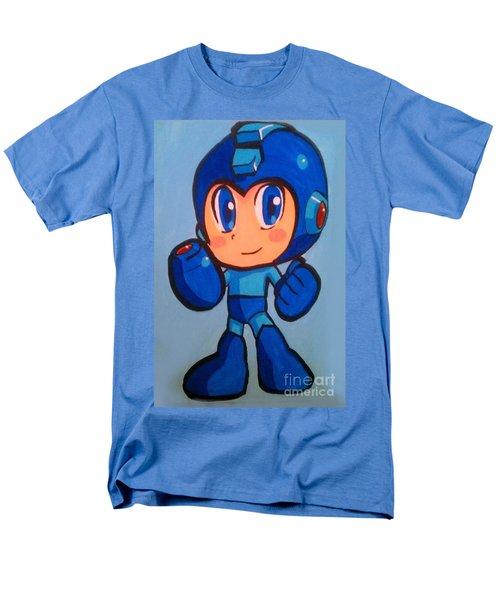 Men's T-Shirt  (Regular Fit) featuring the painting Mega Man by Marisela Mungia