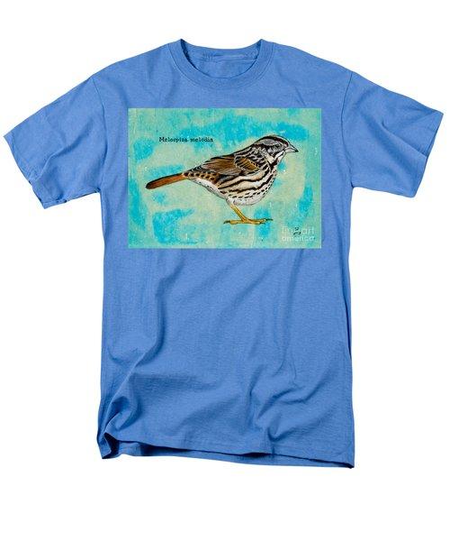 Melospiza Melodia Men's T-Shirt  (Regular Fit)