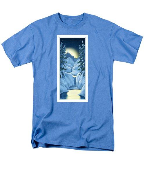 Midnight Sun Men's T-Shirt  (Regular Fit) by Scott Ross