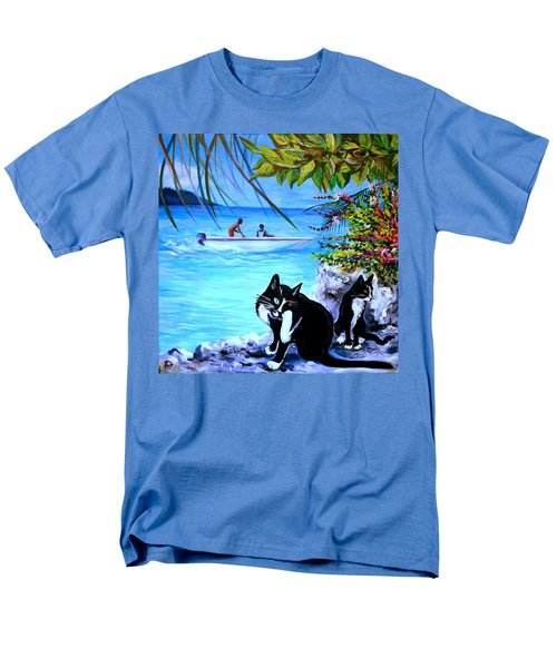 Montego Bay. Part One Men's T-Shirt  (Regular Fit) by Anna  Duyunova