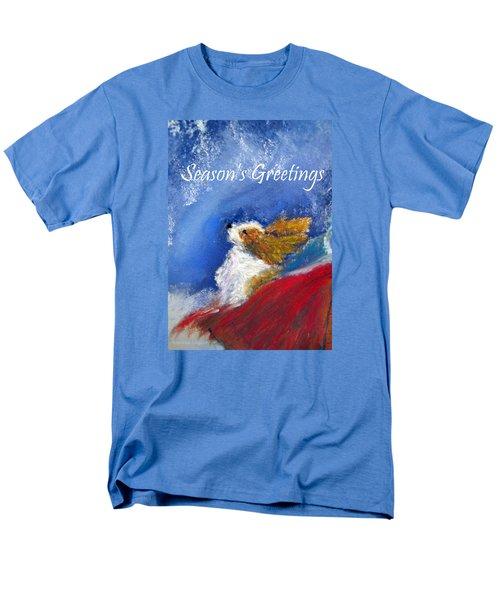 Moonstruck Holiday Card Men's T-Shirt  (Regular Fit) by Loretta Luglio