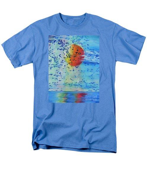Mother Nature At Her Best  Men's T-Shirt  (Regular Fit) by Chrisann Ellis