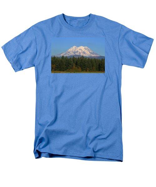 Mount Rainier Washington Men's T-Shirt  (Regular Fit) by Tom Janca