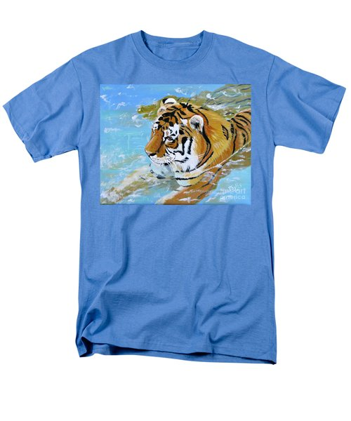 My Water Tiger Men's T-Shirt  (Regular Fit) by Phyllis Kaltenbach