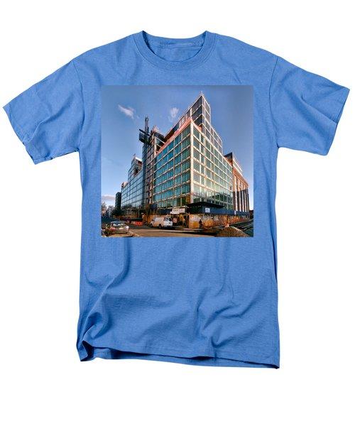 New Neighbors Men's T-Shirt  (Regular Fit) by Steve Sahm